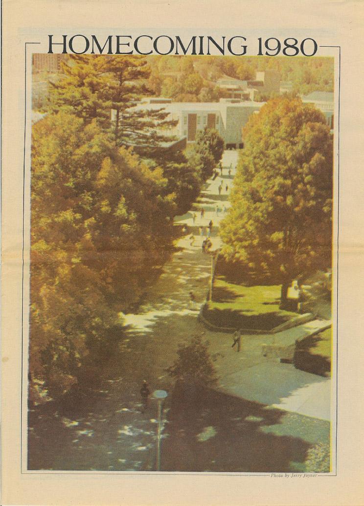 Homecoming insert, 1980