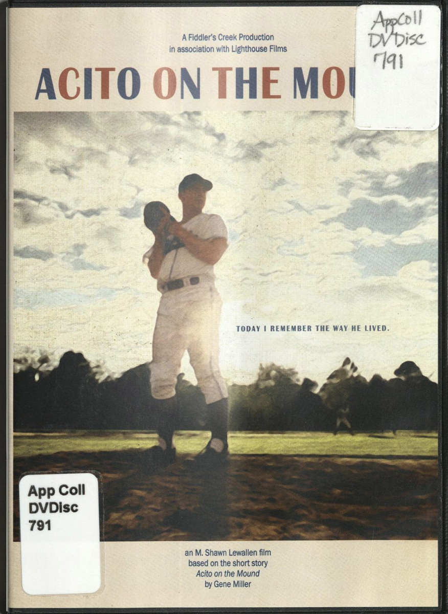Cover for Aceto On the Mound DVD