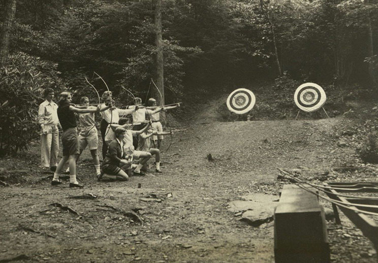 Archery at Camp Yonahlossee