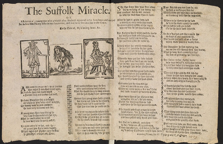 The Suffolk Miracle 1689 Bodleian Library version