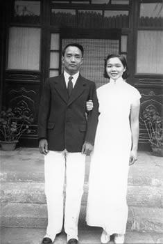 Dr. Bingham and Vivian Dai
