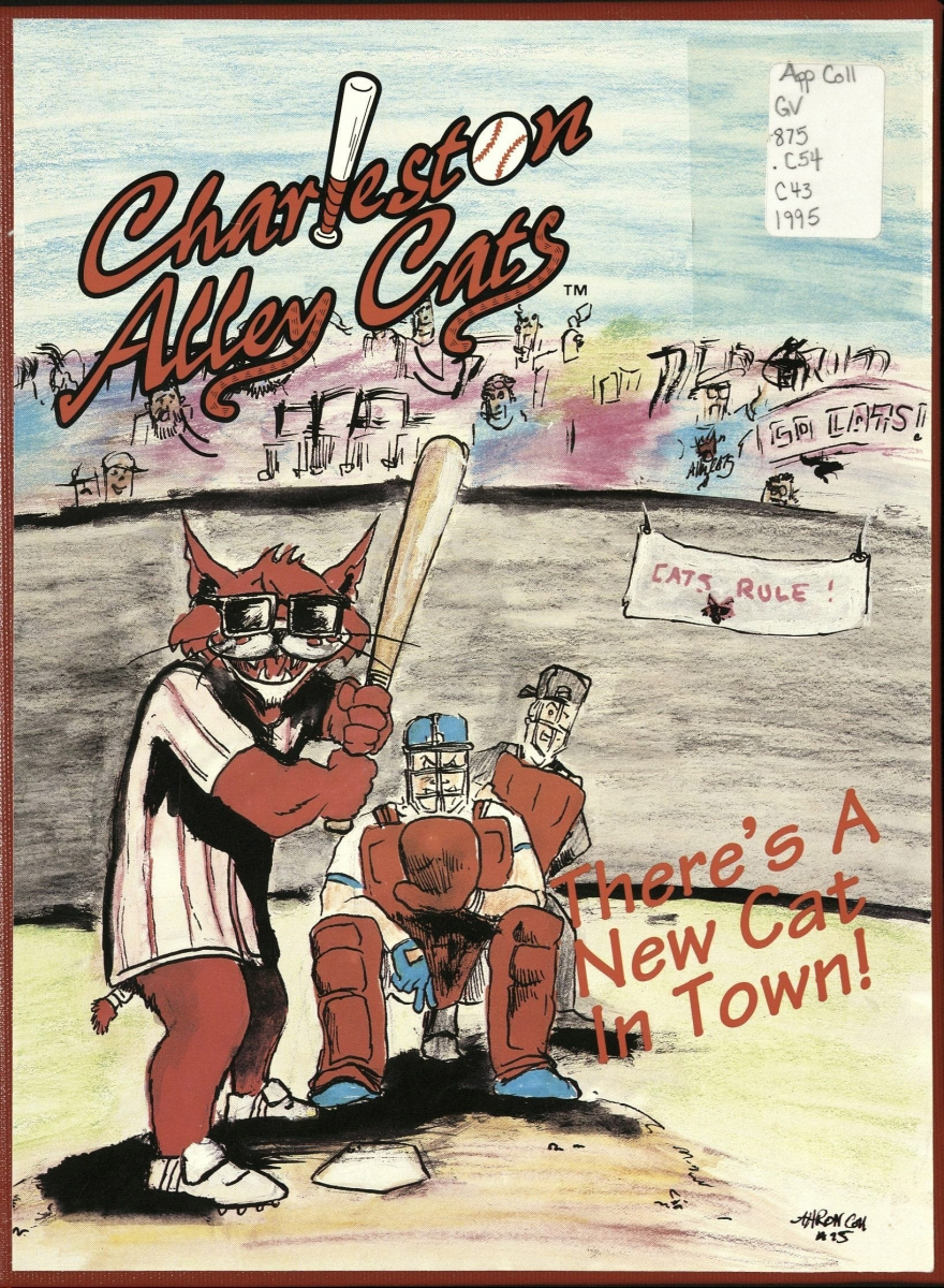 Book Cover Charleston Alley Cats