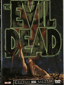 The Evil Dead DVD cover