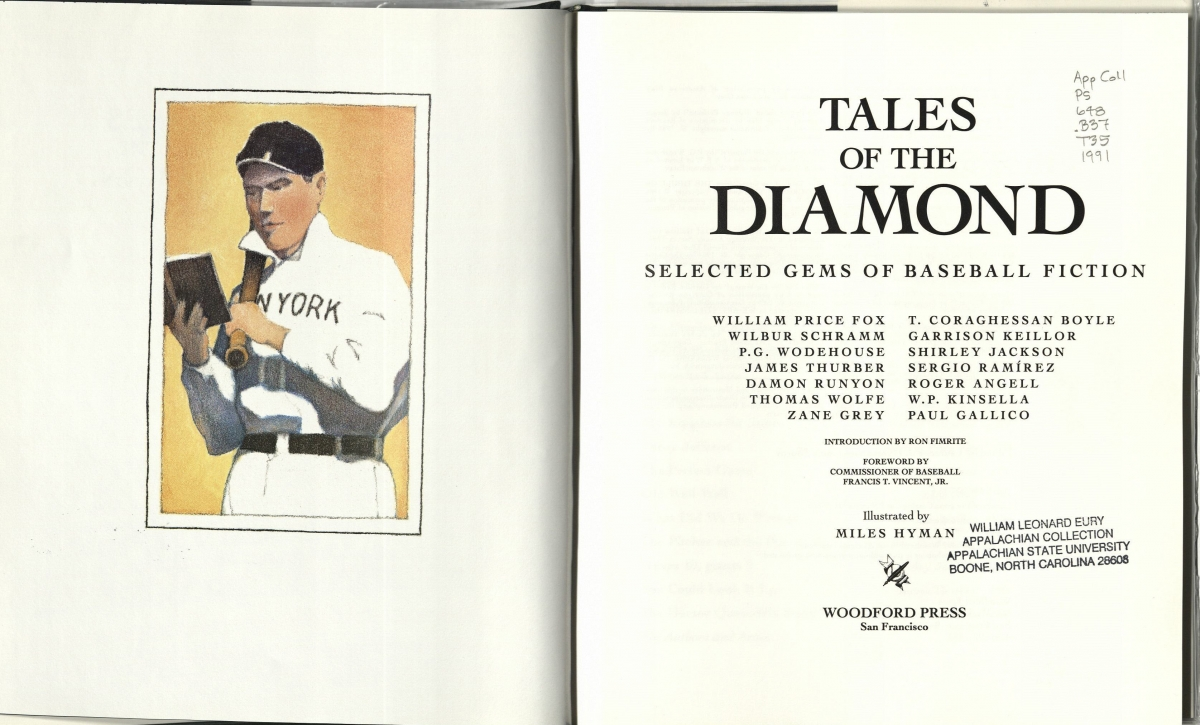Book Cover Tales of the Diamond