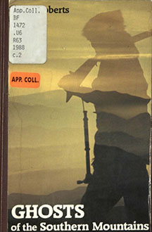 Cover of Ghosts of the Southern Mountains book with silhouette of person holding a rifle