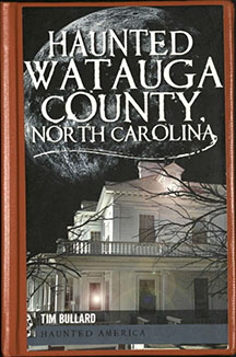 Cover of Haunted Watauga County book