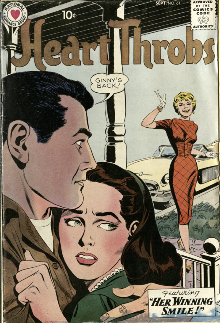 Cover of Heart Throbs