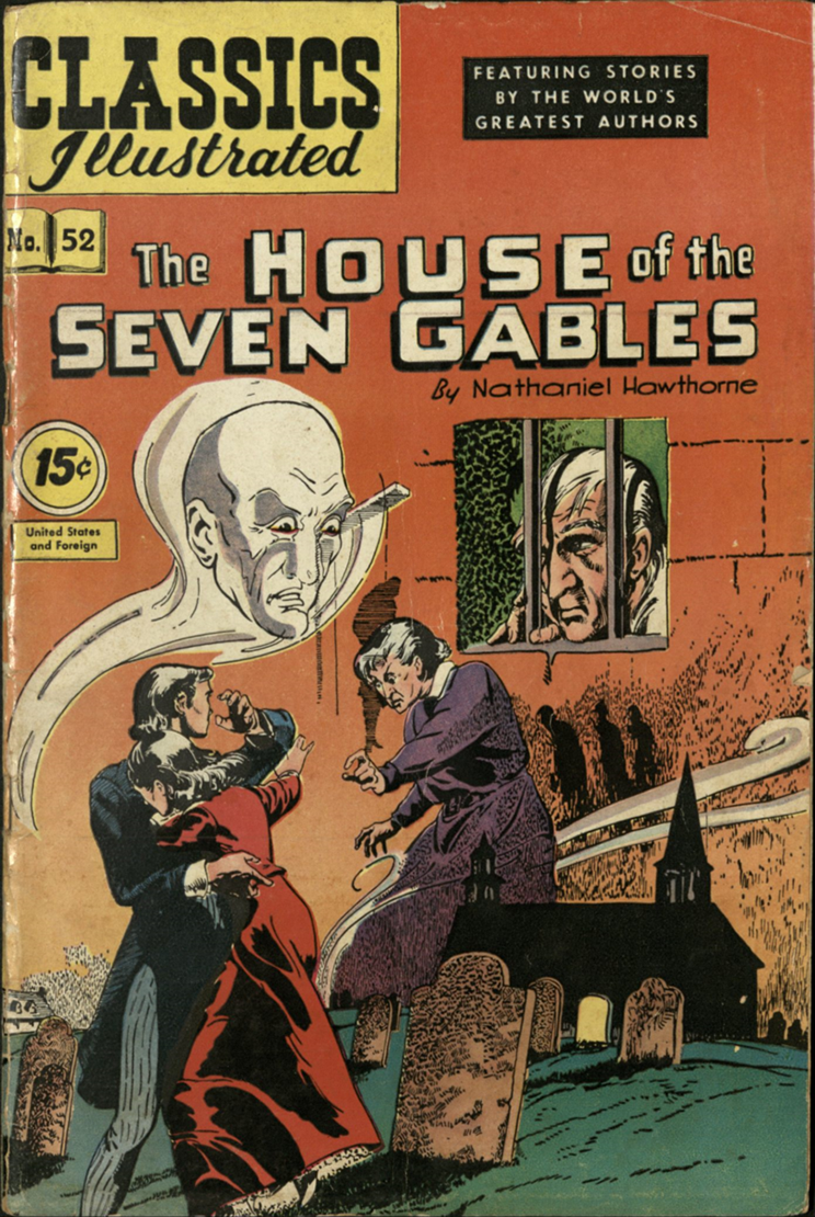 Cover of The House of the Seven Gables