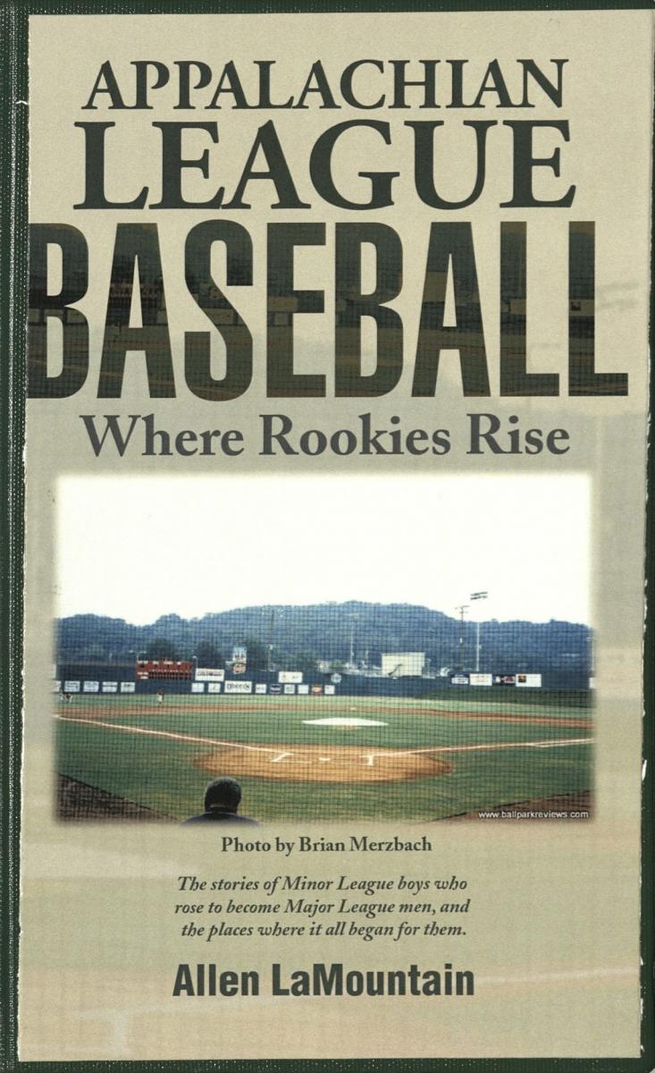 Book Cover Appalachian League Baseball