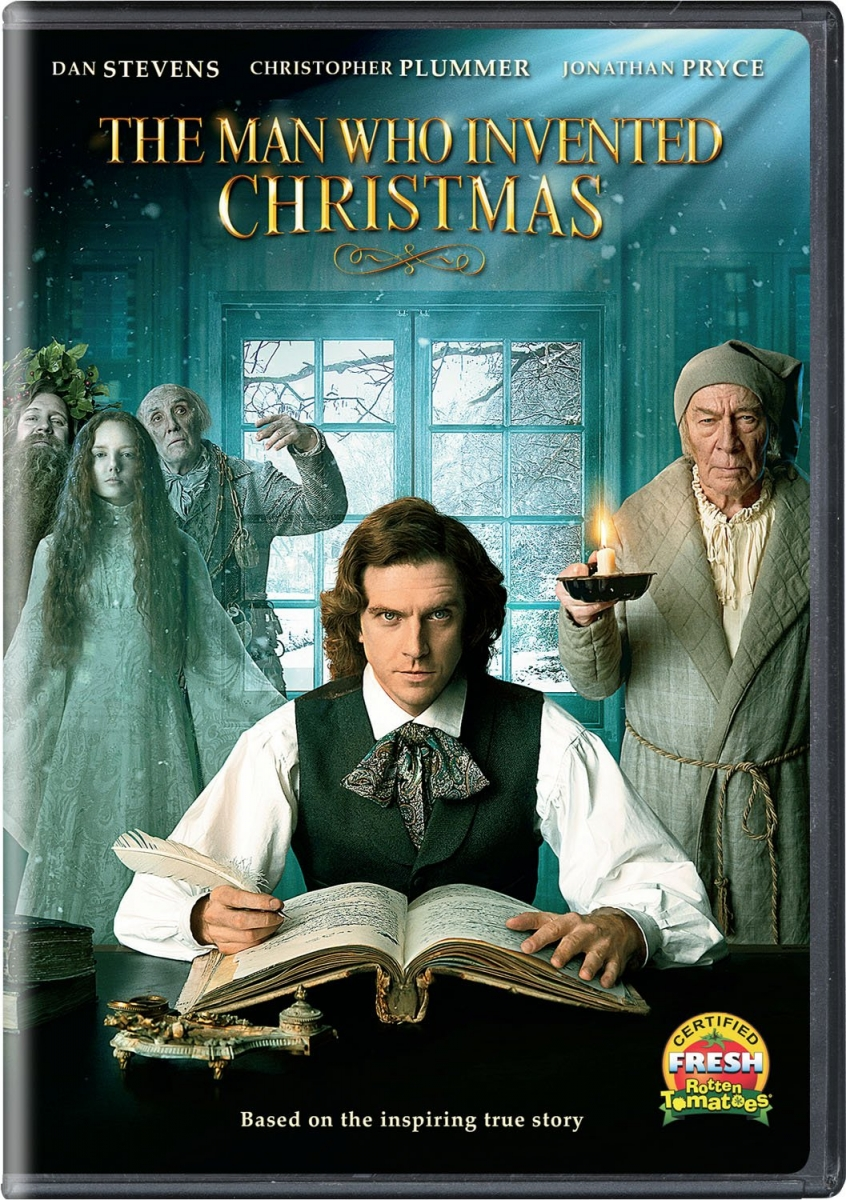Cover art of DVD--The Man Who Invented Christmas