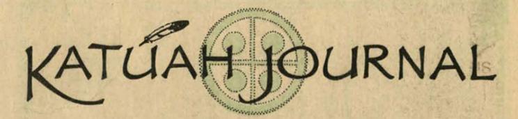 Masthead of the Katuah Journal