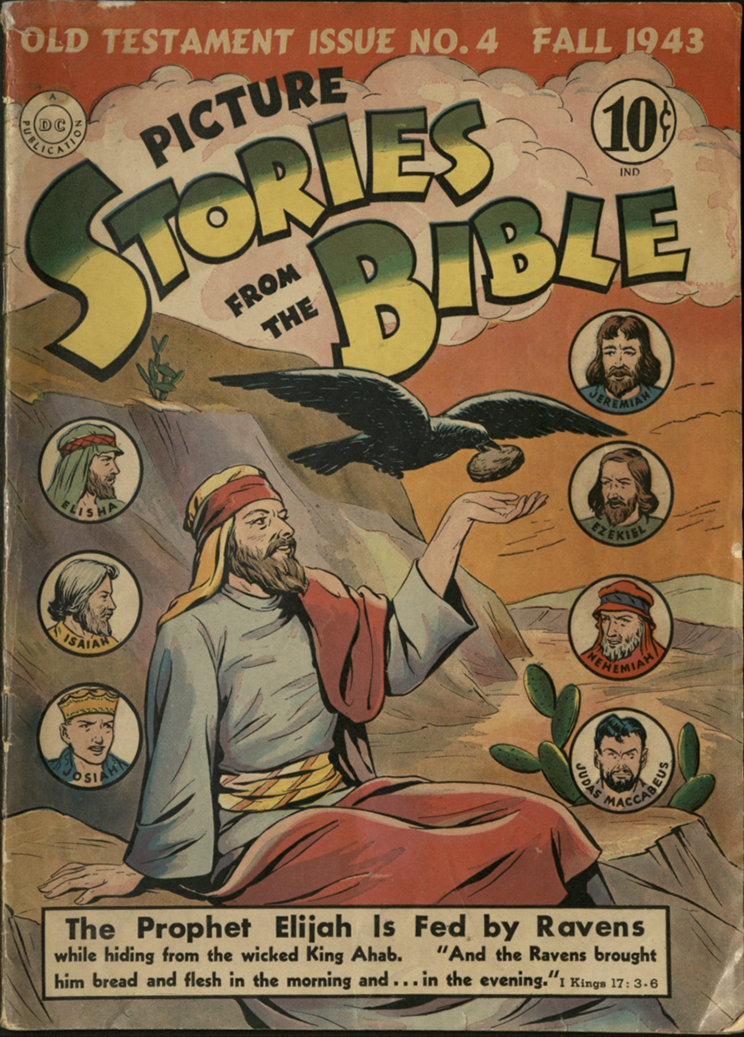 Cover of Picture Stories of the Bible
