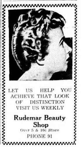 Beauty Shop advertisement