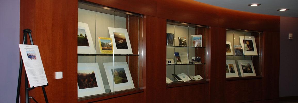 Exhibits display