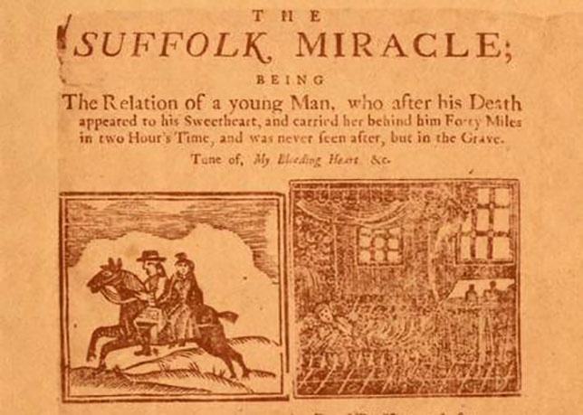Broadside for The Suffolk Miracle